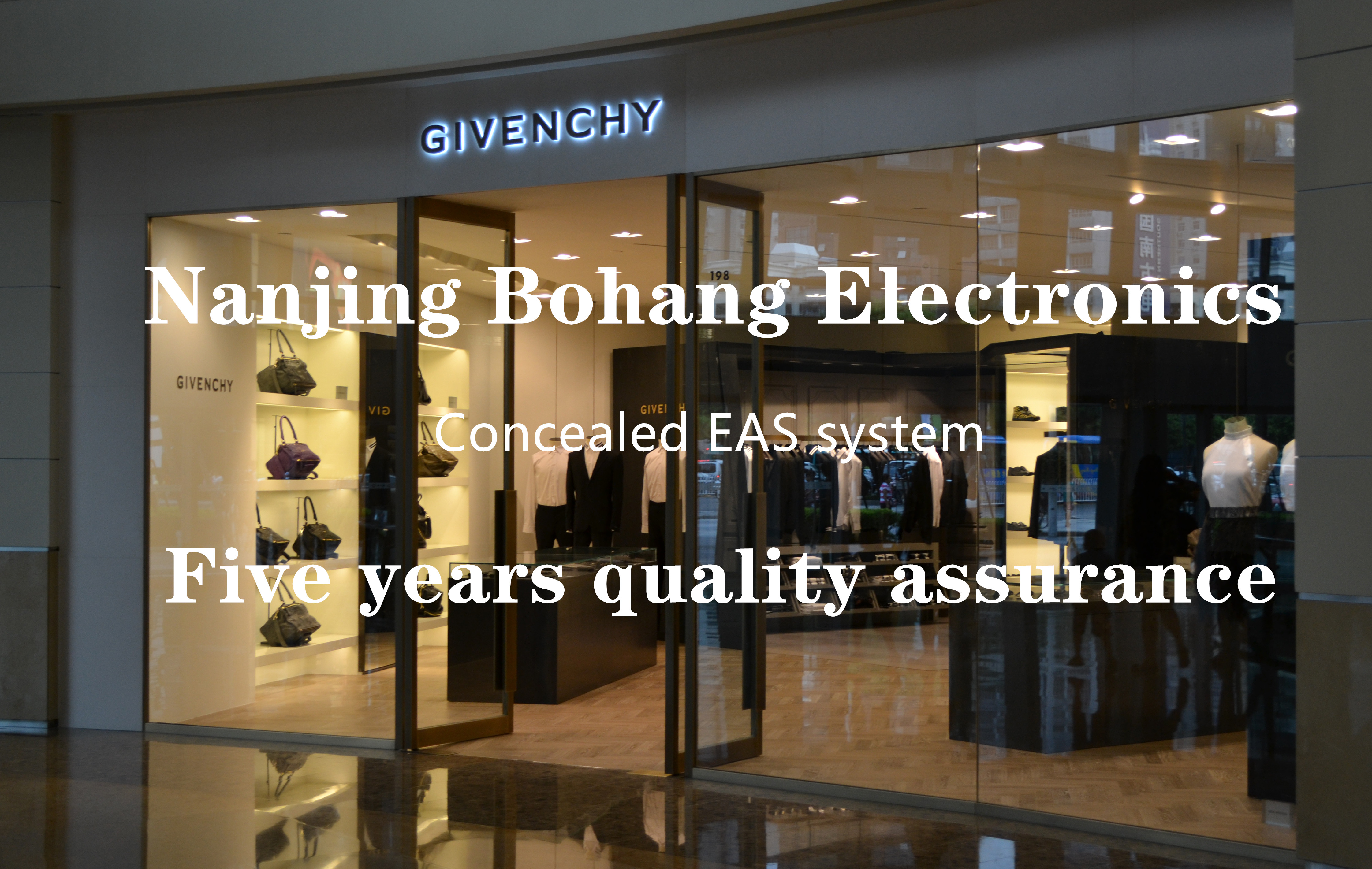 Bohang clothing store eas security gate