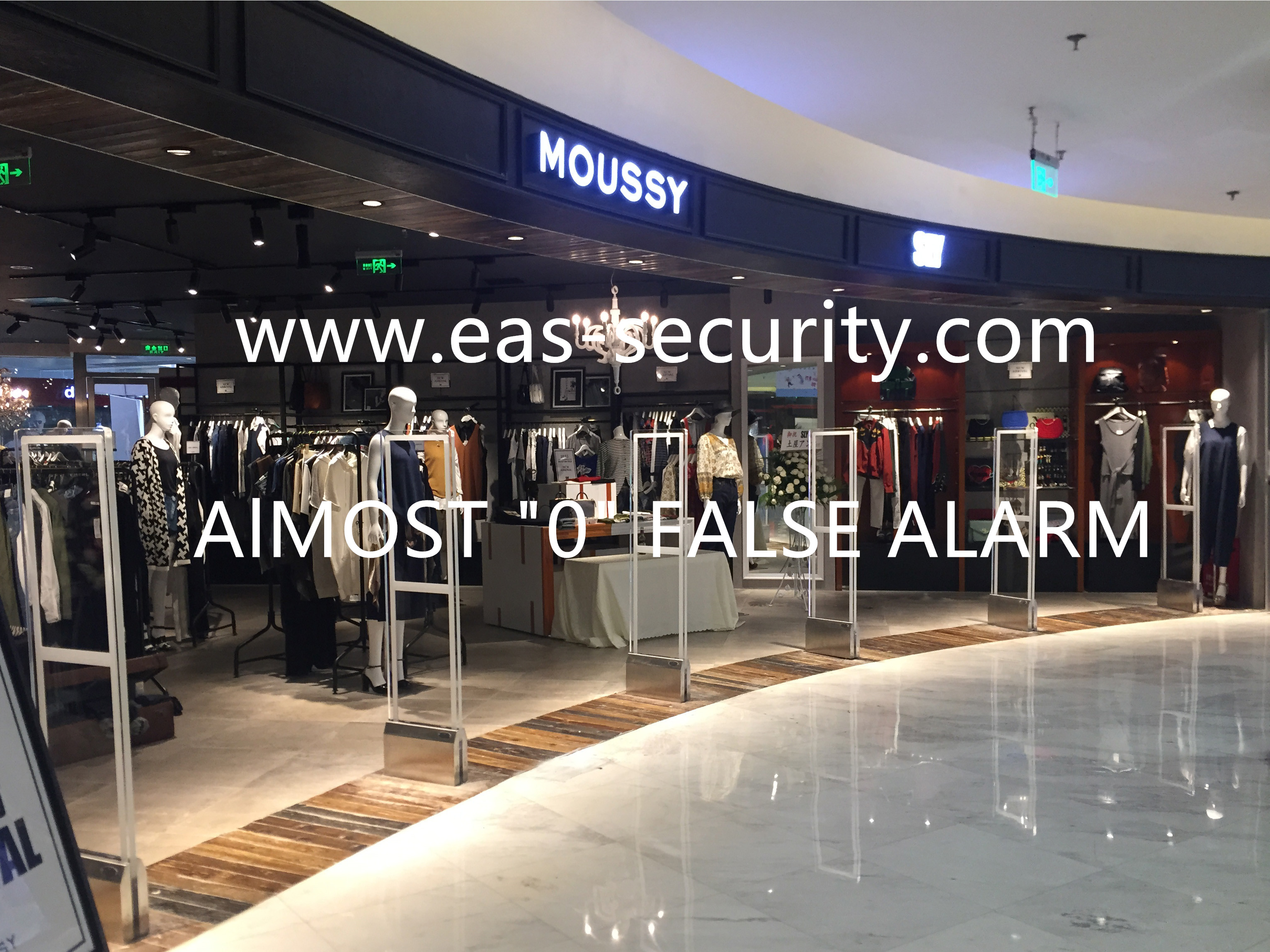 Bohang clothing store eas anti-theft system
