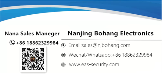 Bohang acrylic eas security gate
